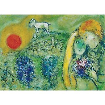 Eurographics The Lovers of Venice, Chagall Jigsaw Puzzle (1000 Pieces)