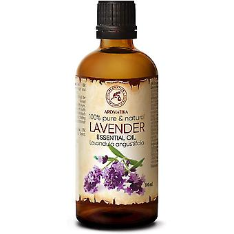 Lavendelöl 100ml - Bulgarien - 100% Rein & Natürliches Ätherisches Lavendel Öl für Guten Schlaf