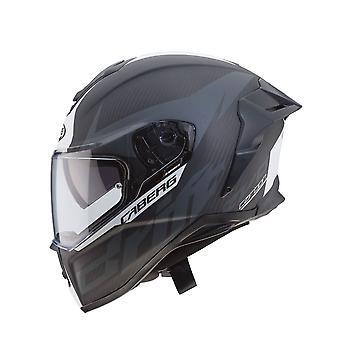 Caberg Drift Evo Anth / Motorcykelhjälm Carbon/Matt/Antracite/Vit