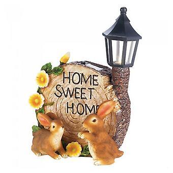 Summerfield Terrace Home Sweet Home Solar Light-Up Gartendekor, 1er Pack