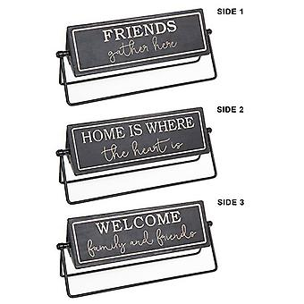 Moving Memo Triple Plaque Welcome