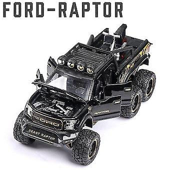 Toy cars 1:24 ford f150 car model alloy car die cast toy car model pull back children's toy collectibles