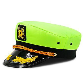 Captain's Yacht Sailors Hat,adjustable Sea Cap