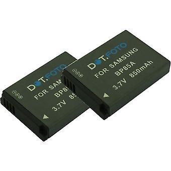 2 x Dot.Foto Samsung BP85A batteri - 3.7V / 850mAh