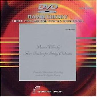 David Chesky - David Chesky: Three Psalms for String Orchestra [DVD Audio] [DVD] USA import
