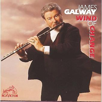 James Galway - importación de USA de Wind of Change [CD]