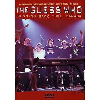 Guess Who - Running Back Thru Canada [DVD] USA import