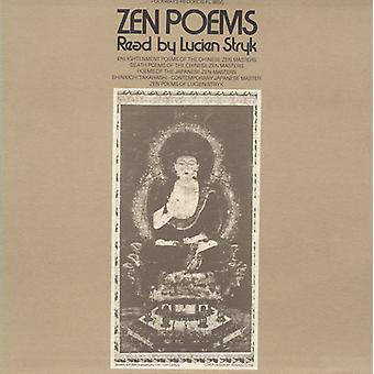 Lucien Stryk - Zen Poems: Read by Lucien Stryk [CD] USA import