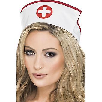 Nurse hood Beanie Hat doctor Medic Red Cross