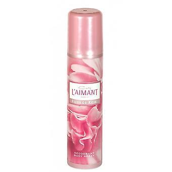 Coty L'aimant Fleur De Rose Deodorant Body Spray