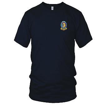 US Navy VAW-120 Angriff Carrier Airborne frühe Warnung Squadron gestickt Patch - Herren-T-Shirt