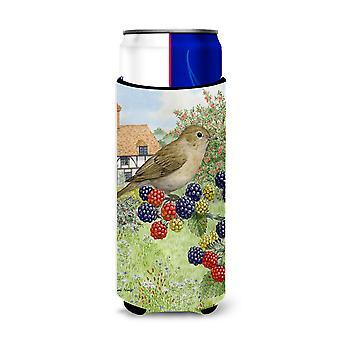 Garden Warbler Ultra Beverage Insulators for slim cans