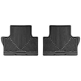 WeatherTech All-Weather Trim to Fit Rear Rubber Mats for BMW X5, Black