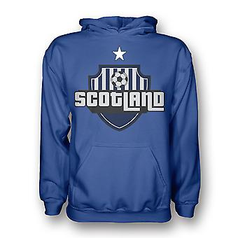Scotland Country Logo Hoody (blue) - Kids