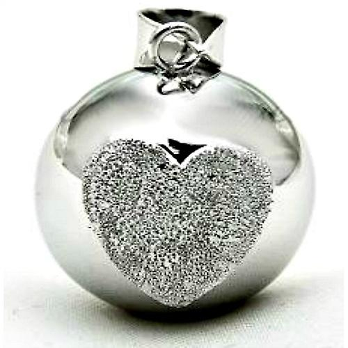 Cristal argent Bola mexicain pendentif 2 Styles