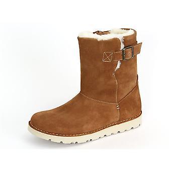Birkenstock Westford Nut Leve 424763 sapatos femininos universais de inverno