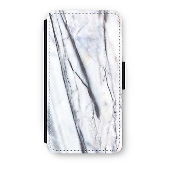Samsung Galaxy S6 Flip Case - Striped marble
