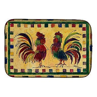 Carolines Treasures  8062DDM Bird - Rooster Dish Drying Mat