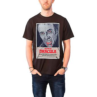 Scars Of Dracula Mens T Shirt Black Studiocanal Vintage Movie Poster Official