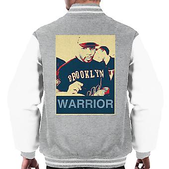 Mike Tyson handtekeningen Brooklyn Warrior Poster stijl mannen Varsity Jacket