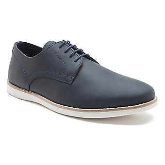 Red Tape Tatton Men's Navy Leather Lace-up Casual Shoes