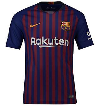 2018-2019 Barcelona Strona główna koszulka piłkarska Nike