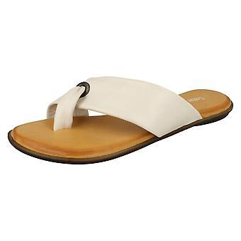 Damer Läder Collection Toepost Sandaler