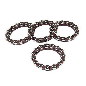 Campagnolo bearing/ball rings OS hub (set of 4)