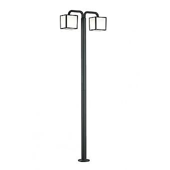 Trio Lighting Cubango Modern Anthracite Diecast Aluminium Pole