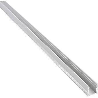 Barthelme 62399101 62399101 Treno a sezione U Alluminio (L x W x H) 1000 x 18,4 x 19,7 mm