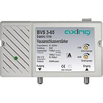 Axing BVS 3-65 Cable TV amplifier 30 dB