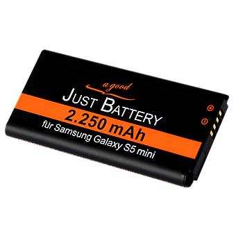 Battery for Samsung Galaxy S5 mini SM g800F