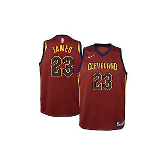 Nike Nba Cleveland Cavaliers Lebron James Youth Jersey - Icon Edition