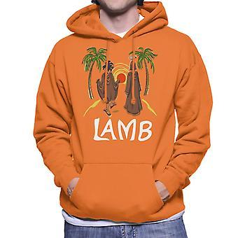 Must Read Book Covers Lamb Men's Hooded Sweatshirt