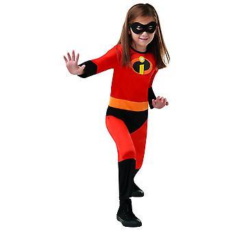 Incredible Kid Unisex Kinder Kostüm Disney PIXAR Die Unglaublichen Karneval Superhelden