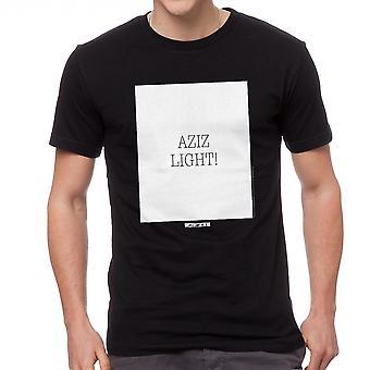 Le cinquième élément Aziz lumière cite noir T-shirt homme