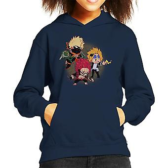 Katsuki Kirishima et Kaminari enfant Hooded Sweatshirt