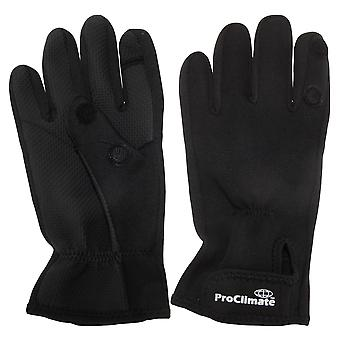 Pro Climate Neoprene Touch Fastening Active Gloves