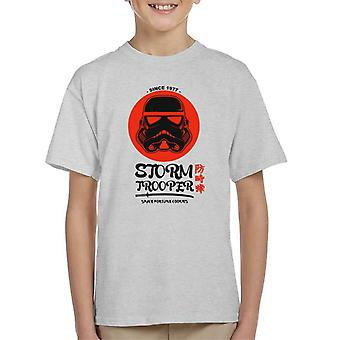 T-shirt original espaço Stormtrooper Fortune Cookies infantil