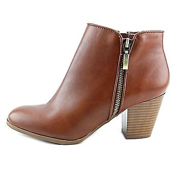 Bottes de style & Co. Womens Jamila cuir amande Toe cheville Fashion