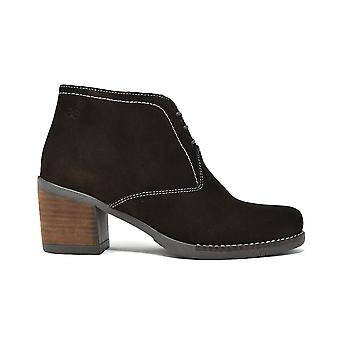 Liberitae boots ankle-boot shoe smooth brown suede 21803352-02