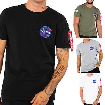Alpha Industries Herren T-Shirt NASA Heavy