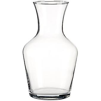 Round Carafe 1.0L Classic Styled Wine Carafe Great For Restaurants Or Home Display Of Wine