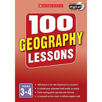 100 lekcji geografii - lat 3-4-3-4 lata przez Elaine Jackson - Tony