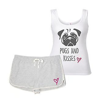 Pugs And Kisses Pyjama's