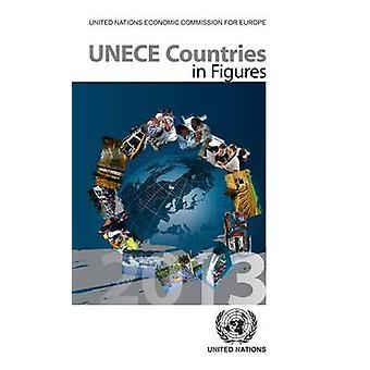 UNECE länder i siffror 2013 av FN - 9789211170924 bok