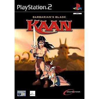 Kaan Barbarians Blade (PS2) - Nieuwe fabriek verzegeld