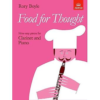 Food for Thought - 9 Easy Pieces for Clarinet & Piano