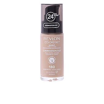 Revlon Colorstay Combination Oily Skin Sand Beige 30ml Womens New