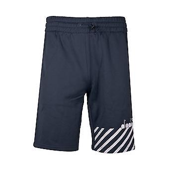 Diadora Navy polyester shorts